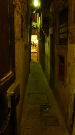 Hotel Antica Casa Carettoni: Alleyway towards the entrance