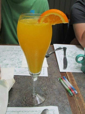 Carroll Villa Hotel : The Best Mimosa at The Mad Batter