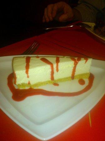 Cafe de Sao Bento Casino Estoril: cheesecake