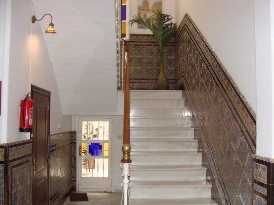 Espacio Azahar: stairs