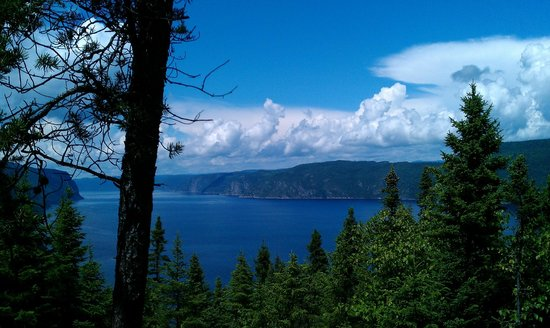 Tours Aventure Fjord et Monde Day Tours : Vue du fjord d'un belvédère
