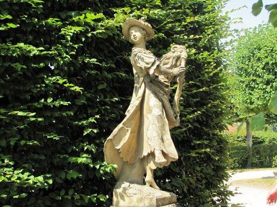 Veitshöchheim Schloss: Damen Figur