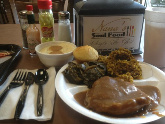 Nana S Soul Food Restaurant Charlotte Menu Prices Reviews Tripadvisor