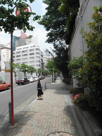 Outside Shiba Park Hotel