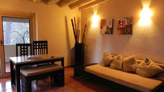 Mision Grand Valle de Bravo: Living room, chalet