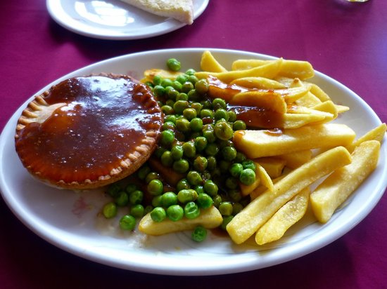 Coffee Corner: Pie, chips, peas & gravy