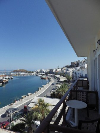 Hotel Coronis: harbour view 1