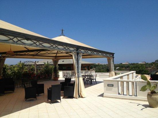 Hotel Principe di Fitalia Wellness & SPa: Terrasse sur toit