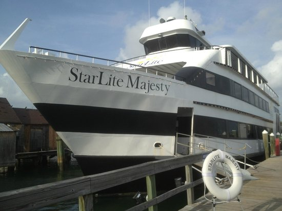 Starlite Majesty Dining Cruises Docked At Clearwater Marina