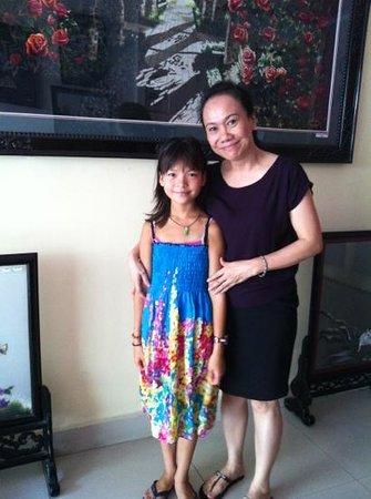 New Time Hotel : merci pour le cadeau ! Linh l'adore !