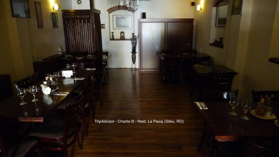 Restaurant Pasaj: Pasaj - Inside