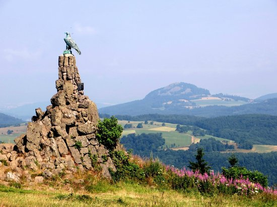 Gersfeld, Germany: Fliegerdenkmal
