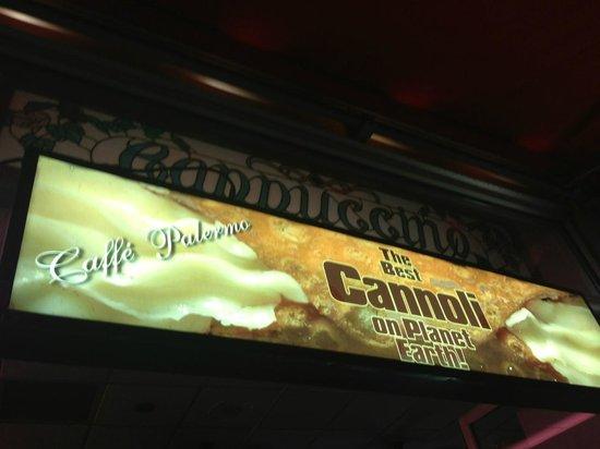 Caffe Palermo: Cafe Palermo - best cannoli!