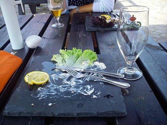 Restaurant Vaegteren: ............................... Jo det gjorde vi visst!