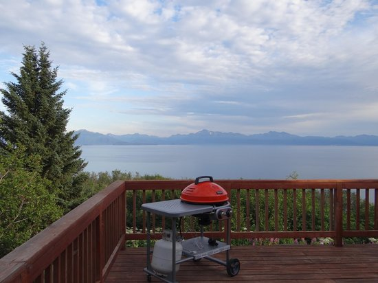 Alaska Adventure Cabins: View from deck