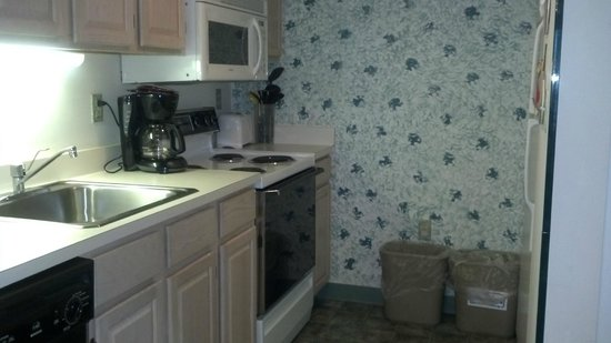 Watson's Regency Suites: Nice-sized, functional kitchen with all the necessary utensils
