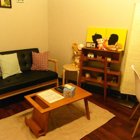 Come On Guesthouse Myeongdong: The living room