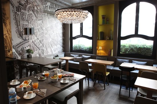 Louison Hotel: NEW Breakfast room