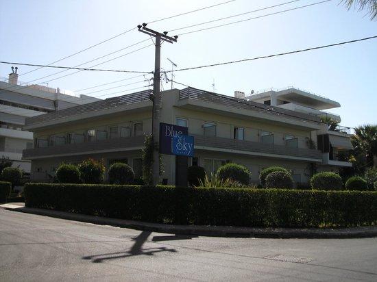 Blue Sky Hotel: blue sky