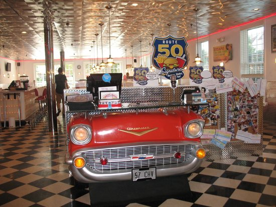 Francis Scott Key Family Resort : route 50 diner at hotel