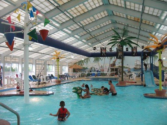 Francis Scott Key Family Resort : the indoor waterpark