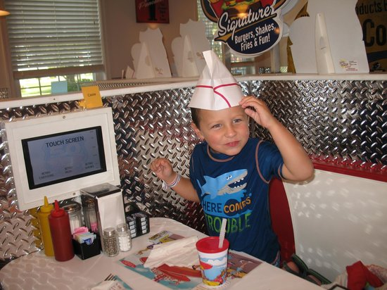 Francis Scott Key Family Resort : another diner pick-cute hat they give kids