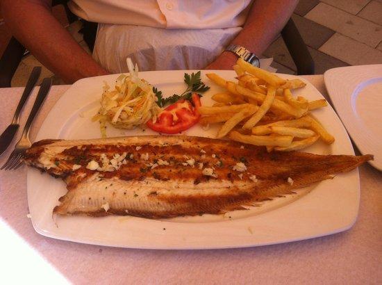 Restaurante El Picadero: Grilled sole