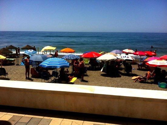 Restaurante El Picadero: El Picadero - view of beach from restaurant