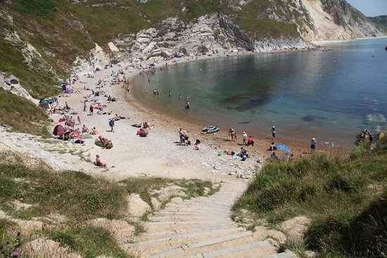 West Lulworth, UK: Man of war cove