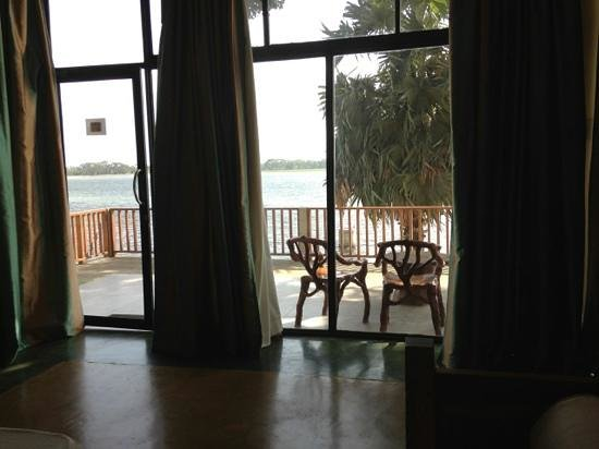 Taprospa Tissa: view from the room