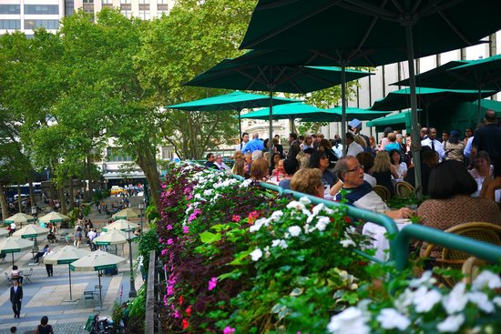 Winter Garden 2 Picture Of Bryant Park Grill New York City Tripadvisor