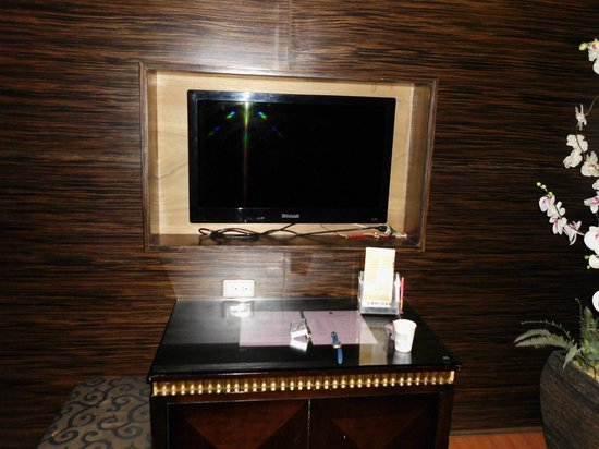 Beverly Garden Motel: 不合格的電視,尺寸太小