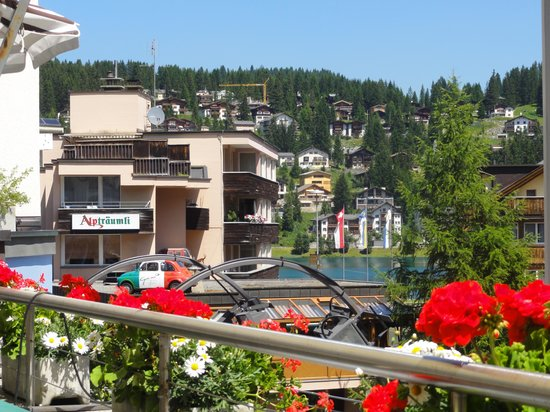Piccolo - Simmens Rösti: view from my table