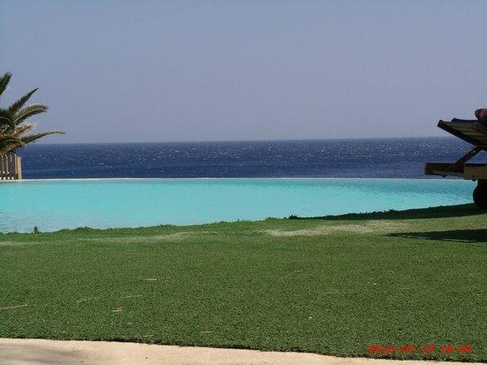 Kalypso Cretan Village : Vue piscine !!! Wow !!!