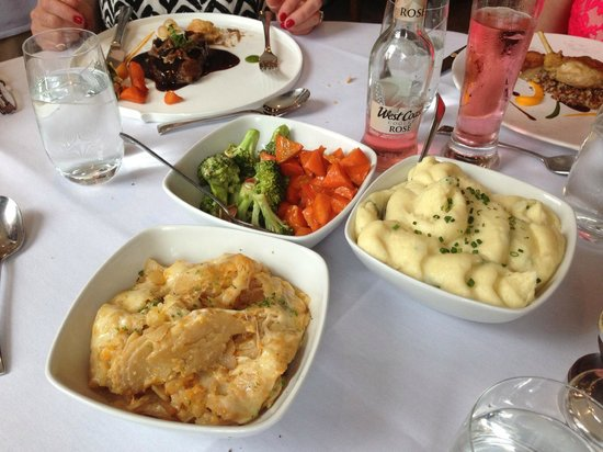 MacNean House & Restaurant: Selection of Potatoes & Vegetables