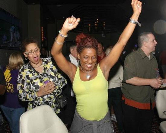 Eldorado Gaming Scioto Downs: Winners celebrate!