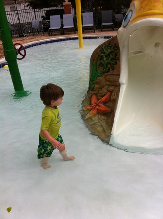 Sleep Inn & Suites Rehoboth Beach Area: Great pool for my 2 yr. old.