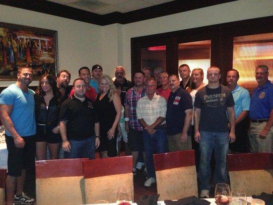 Holiday Inn Baltimore-Inner Harbor: Group Dinner