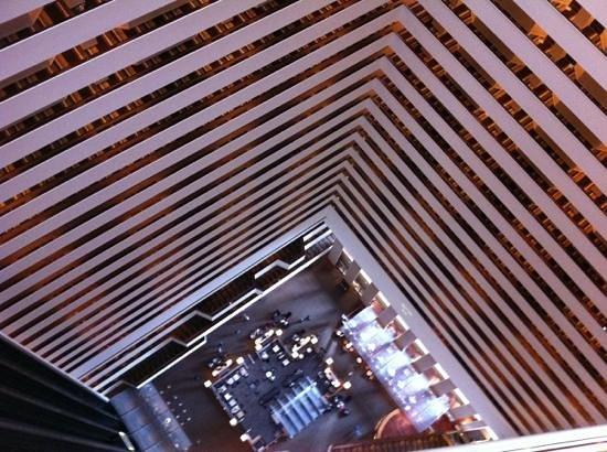 Hyatt Regency Houston: vista hall dal 30' piano