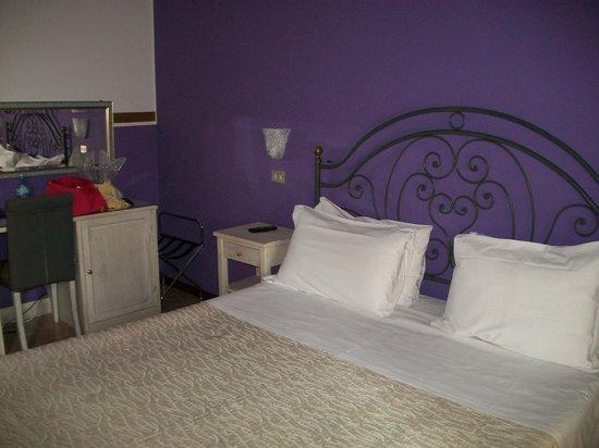 Hotel Benacus: unser Zimmer diesmal