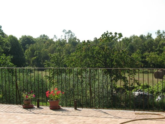 Nocifazino: la terrazza