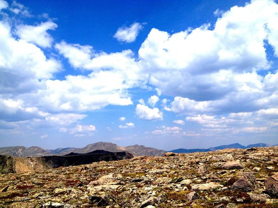 Flattop Mountain Trail: The view at the top