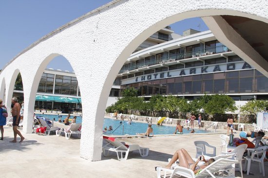 Hotel Arkada: The pool