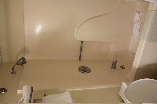 Coastal Palms Inn & Suites : shower