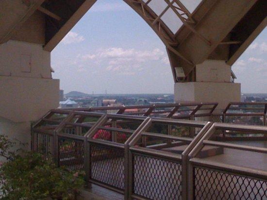 Kuching Civic Centre: 上の様子