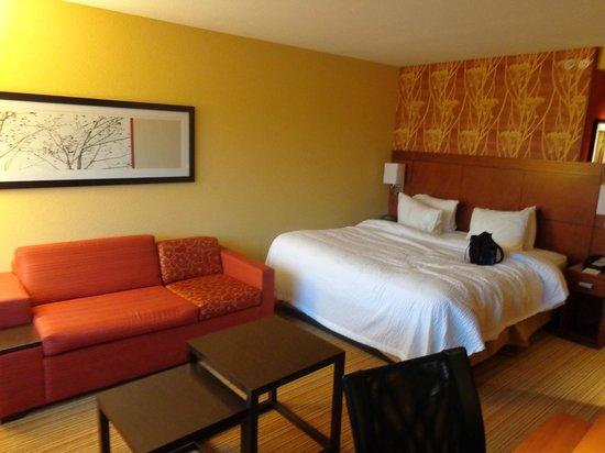 Courtyard Burlington Mt. Holly/Westampton: chambre 204
