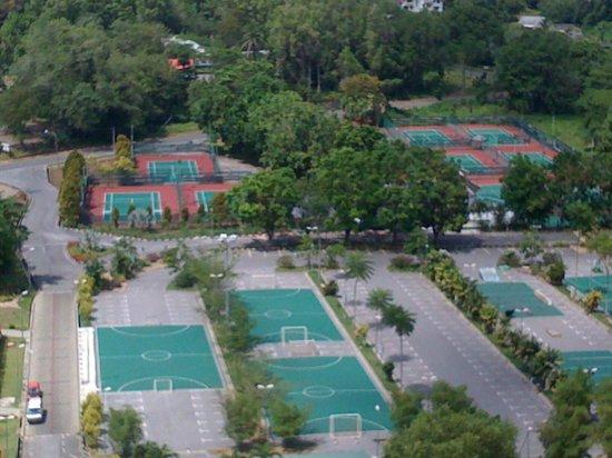 Kuching Civic Centre: 上から見える景色