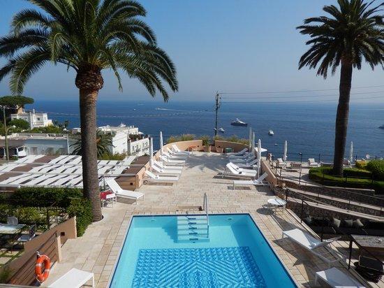 Villa Marina Capri Hotel & Spa: terrasse piscine