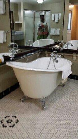 Carnegie Hotel: fantastic tub