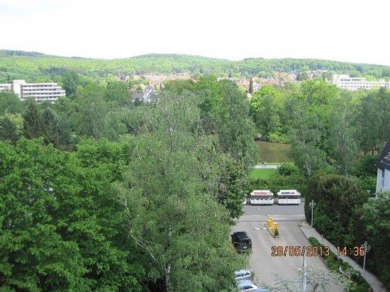 Maritim Hotel Bad Salzuflen: Super Aussicht aus unser Zimmer 509